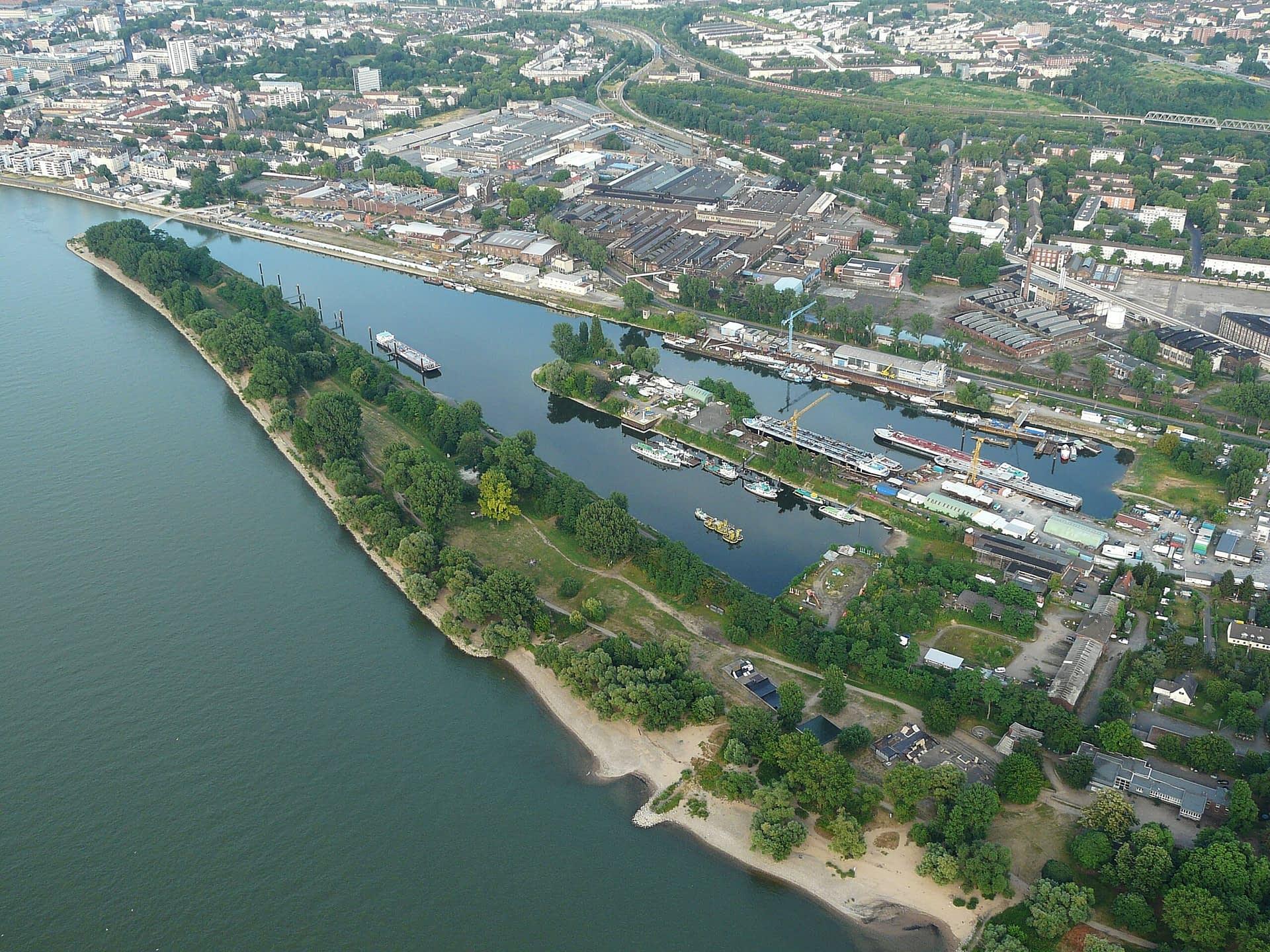Mühlheimer Hafen